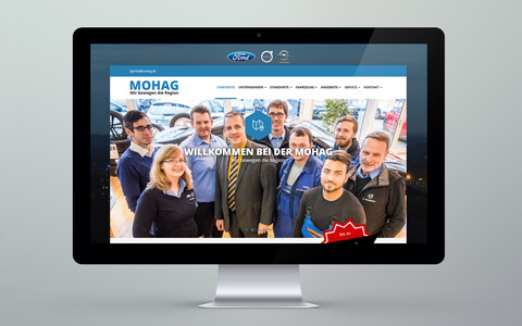 MOHAG Website Desktop