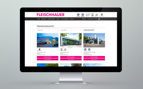 Fleischhauer Website Desktop