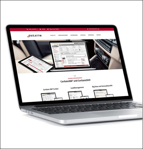 Fahrzeugvermarktung Fotoservice Webdesign Lead Autohaus Dotzilla