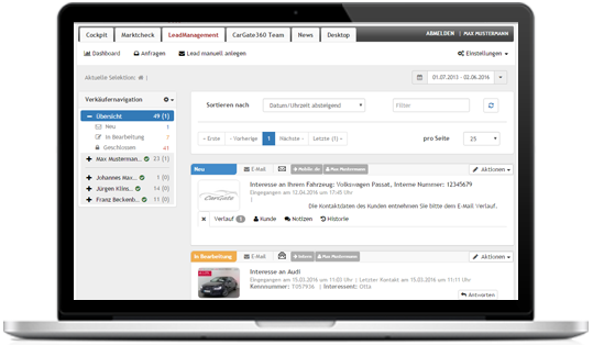 CarGate360° - Business Carmanagement